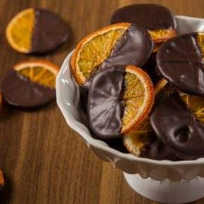 portakal çikolata tatlı desert
